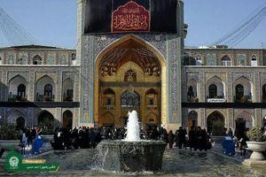 فیلم/ سرود نوجوانان فاطمی در حرم امام رضا(ع)