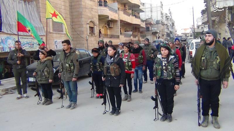 نیروهای داوطلب کرد