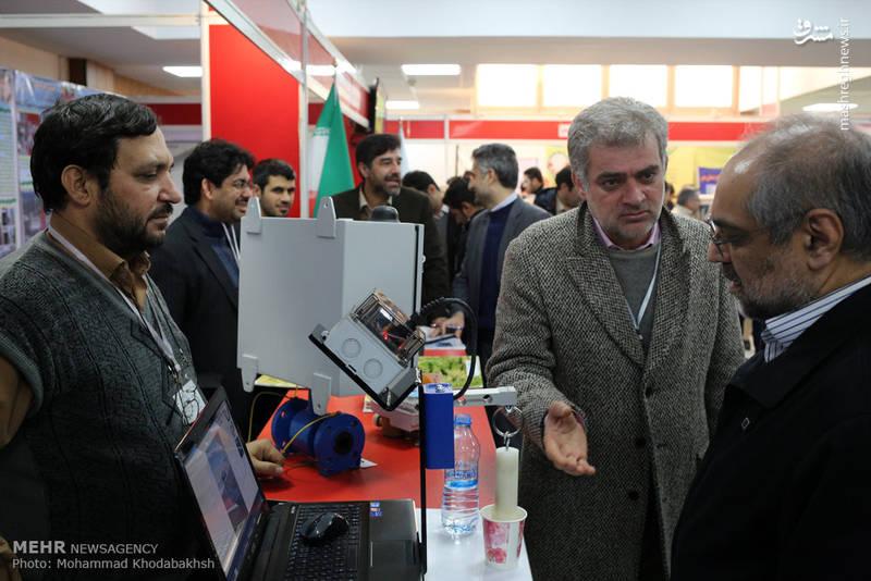 افتتاح نمایشگاه سرآمدان فناوری و صنعت