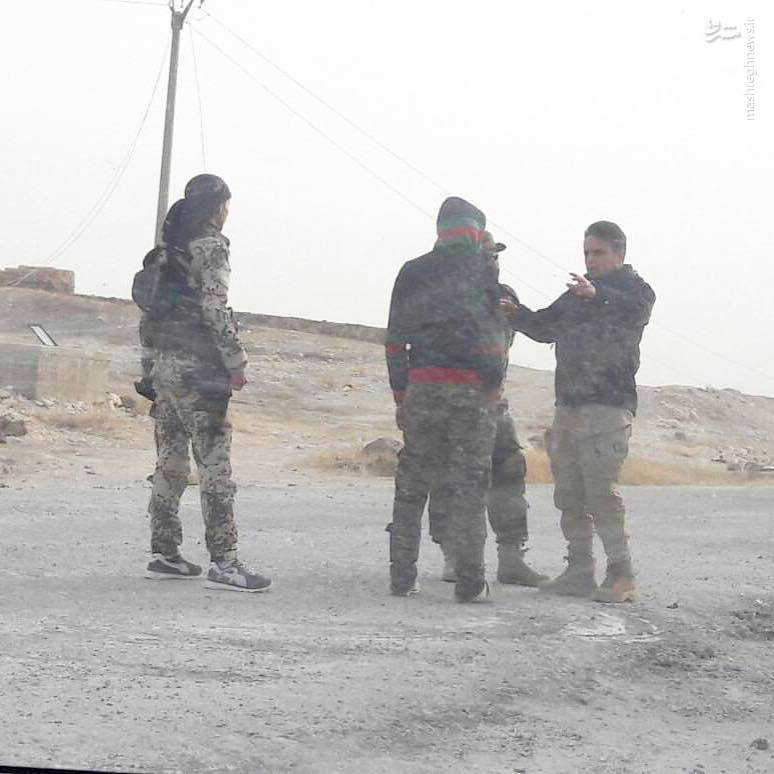 کاروان نظامی ارتش ترکیه  در سوریه