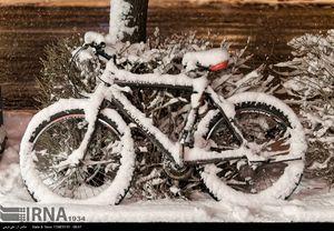 بارش شدید برف در اراک