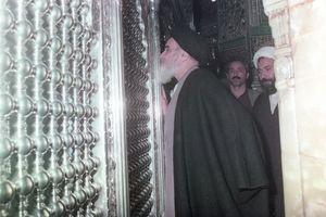 آداب زیارت امام خمینی در نجف چگونه بود؟+ عکس