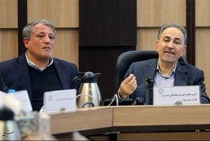 رسانههای حامی نجفی نگران رقابت با محسن هاشمی شدند+عکس