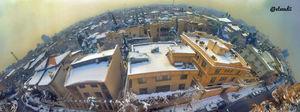 عکس/ نمایی متفاوت از تهران برفی