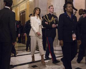 عکس/ اوج گرفتن شکاف بین ترامپ و همسرش