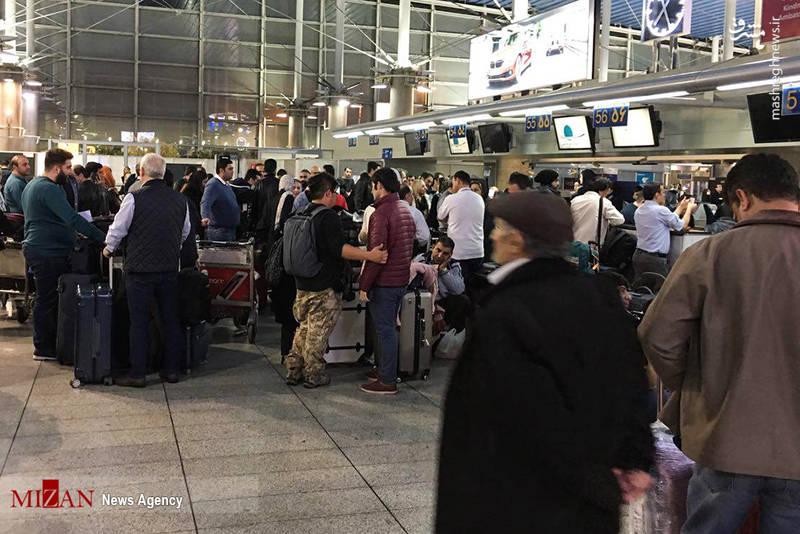 انتظار سه روزه مسافران در فرودگاه