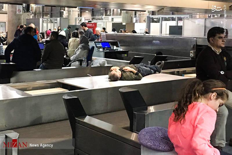 مکان های عجیبی که مسافران به دلیل نبود فضای مناسب برای استراحت برگزیده اند.