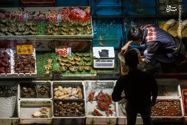 تصویری زیبا از بازار گوانگژو
