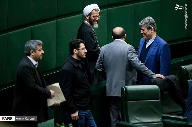 احمد مازنی و تاجگردون در جلسه امروز مجلس شورای اسلامی