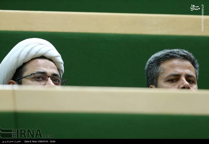 حاضران در جلسه علنی مجلس شورای اسلامی