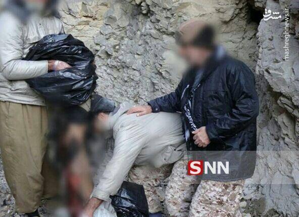 تصاویر به درک واصل شدن تروریستهای داعش در غرب کشور