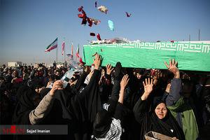 عکس/ ورود پیکر ۲۸ شهید دفاع مقدس به کشور
