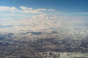 عکس/ کوه همیشه سفید ایران