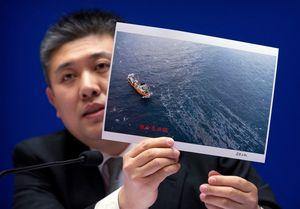 خطر انفجار کشتی سانچی
