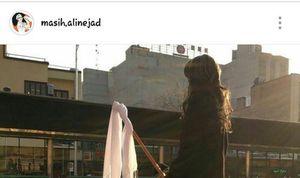 ذوق زدگی «مسیح علینژاد» با دیدن یک مانکن بیحجاب +عکس
