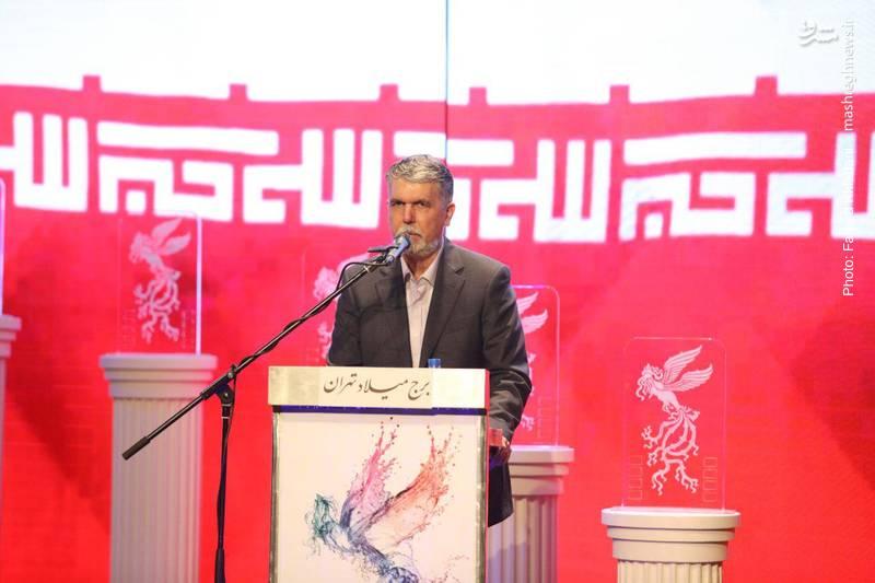 سید عباس صالحی وزیر فرهنگ و ارشاد اسلامی، یکی از سخنرانان این مراسم بود.