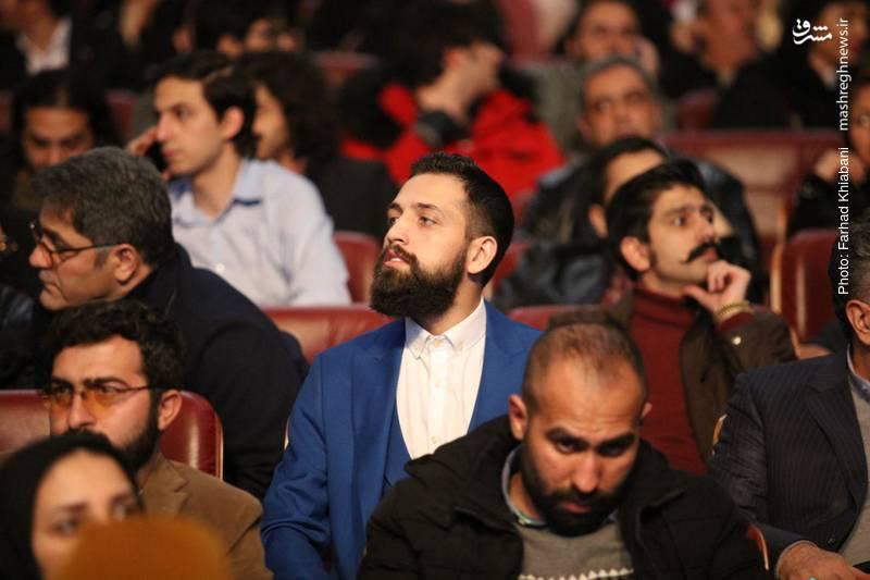 محسن افشانی در افتتاحیه جشنواره فیلم فجر