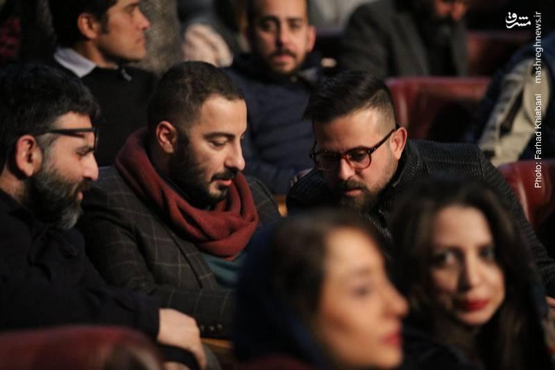 نوید محمدزاده و هومن سیدی از جمله بازیگران حاضر در این مراسم بودند.