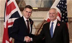 رایزنی وزرای دفاع آمریکا و انگلیس درباره ایران