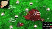 آخرین تحولات میدانی غوطه شرقی دمشق +نقشه