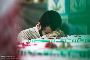 عکس/ وداع با شهدای گمنام در حرم علی بن مهزیار
