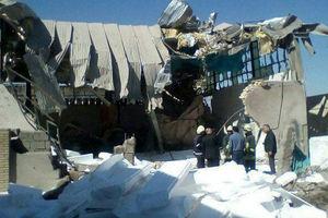 عکس/ انفجار مرگبار در شیراز