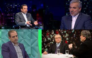 ٧٧ درصد از میهمانان تلویزیون در دی ماه دولت و حامیانش بودند +جدول