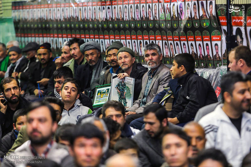 حضور مردم در مراسم یادواره شهدای مدافع حرم