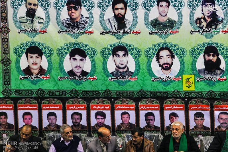تصویری از شهدای مدافع حرم