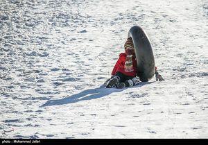 عکس/ تفریحات زمستانی در ارتفاعات زنجان
