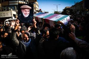 عکس/ تشییع شهید مدافع حرم «جاسم حمید» در اهواز