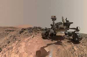 عکس/ گشت وگذار در مریخ
