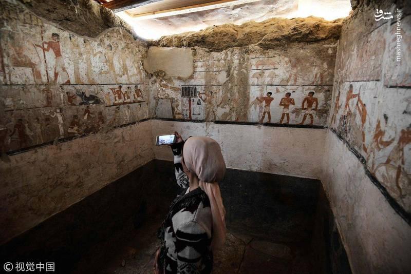 این آرامگاه متعلق به یک هت پت زن از نزدیکان پادشاهان مصر باستان بوده است.