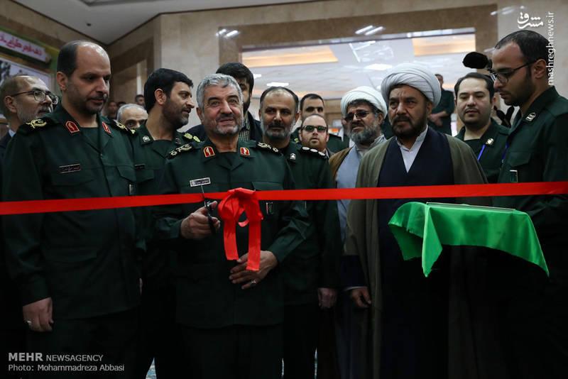 افتتاح نمایشگاه جلوه های تحول با حضور سردار جعفری