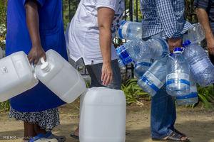 عکس/ آفریقایجنوبی جیرهبندی آب را شروع کرد
