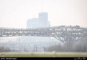 عکس/ آلودگی هوا گریبان تهران را گرفت