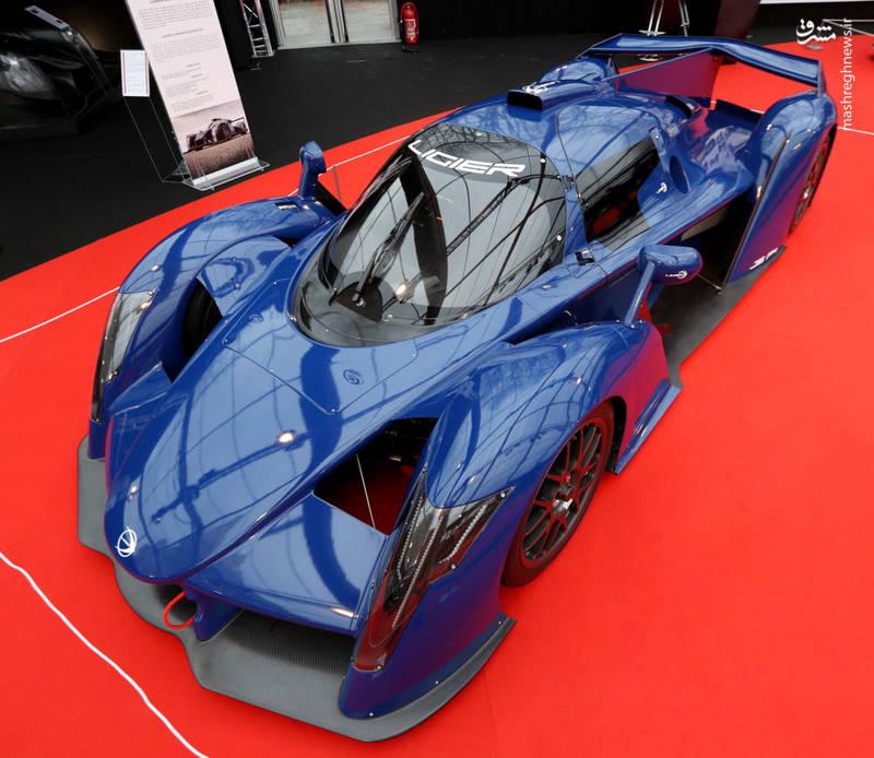 طرح مفهومی  Ligier JSP4