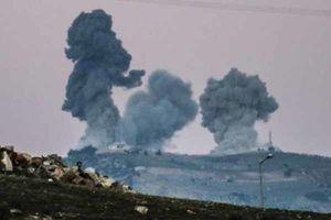 حمله توپخانهای ارتش سوریه علیه نیروهای ترکیه