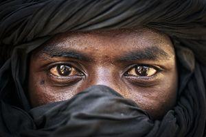 عکس/ مرد طوارقی آفریقایی