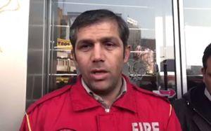 فیلم/ توضیحات ملکی درباره اطفای حریق ساختمان وزارت نیرو