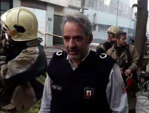 فیلم/ افزایش احتمال ریزش ساختمان وزارت نیرو