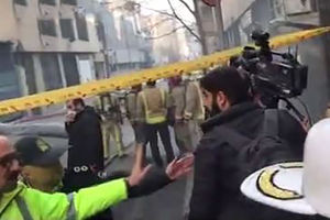فیلم/ تخلیه خبرنگاران از حوالی ساختمان وزارت نیرو
