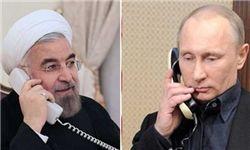 خبر کرملین از رایزنی پوتین و روحانی درباره سوریه