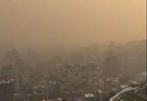 فیلم/ آلودگی هوای تهران از توچال