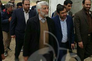 ر سعید جلیلی در مناطق زلزله زده کرمانشاه