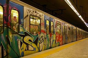 فیلم/ شاهکار فرهنگی در مترو پایتخت ایتالیا