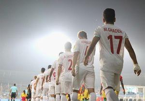 پیروزی تیم ملی نوجوانان مقابل نوجوانان گلگهر