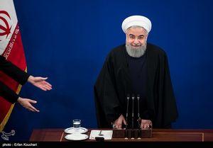 نشست خبری روحانی با رسانههای داخلی و خارجی