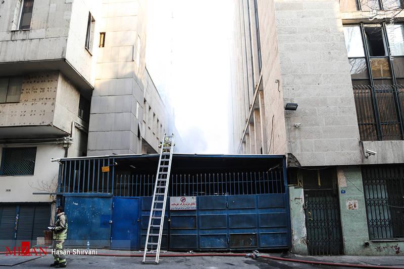 ساختمانهای مجاور تخلیه شدند