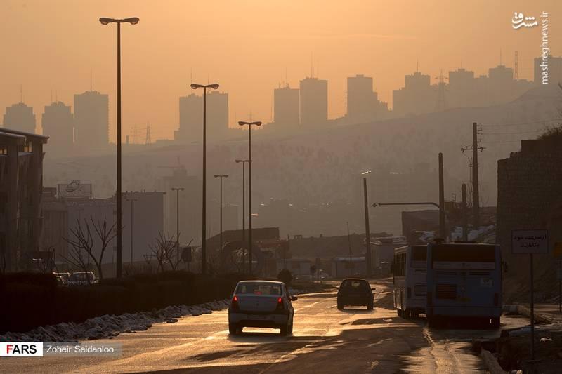 آلودگی هوای تهران مرز خطر را پشت سر گذاشت.